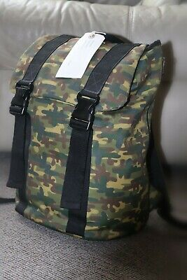 £12 • Buy Camouflage Backpack/Paperchase /Drawstring /Buckled