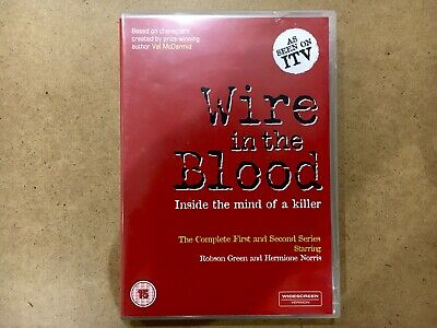 £2 • Buy Wire In The Blood DVD Complete First And Second Series Robson Green