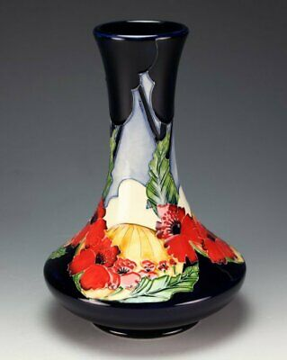 Moorcroft Forever England Remembrance Vase 62/7, 1st Quality, Rrp £525.00 • 260£