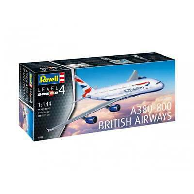 Revell 03922 1:144 Scale Airbus A380-800 British Airways Aircraft Model Kit • 22.95£