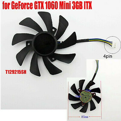 AU23.40 • Buy Replacement Graphics Card Cooling Fan For GeForce GTX 1060 Mini 3GB ITX