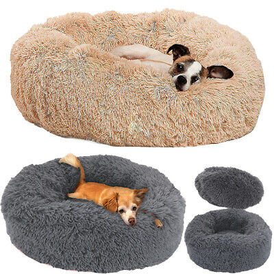 Detachable Original Calming Donut Dog Bed Anti-Anxiety Pet Cat Bed Cuddler Nest  • 17.97£