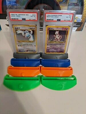 $5.25 • Buy Pokemon Card Stand - PSA & Toploader - 3D Print - Request Style & Color