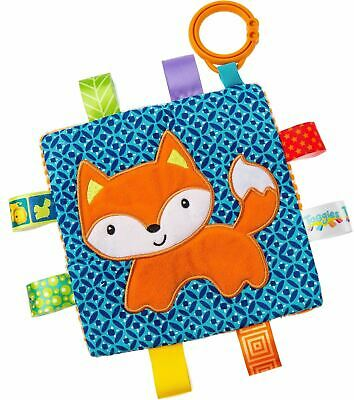 £9.99 • Buy Taggies CRINKLE FOX Colourful Crinkle Soother Buggy/Stroller Toy Baby BN