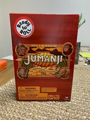 AU21.95 • Buy READY TO ROLL  Jumanji  Mini Board Game - BNIB!