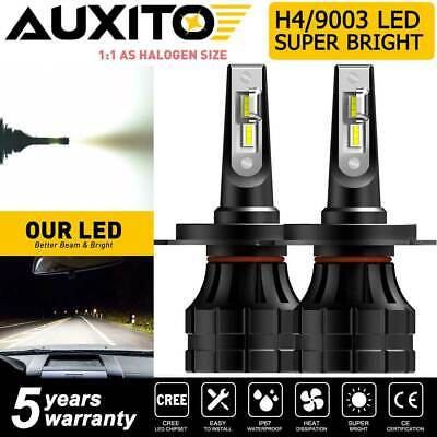 $27.99 • Buy AUXITO 9003 H4 HB2 LED Headlight Bulb High Low Beam Kit Super White 20000LM 100W