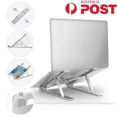 AU25.98 • Buy Adjustable Laptop Tablet Stand Notebook Riser Holder Ergonomic Portable MacBook
