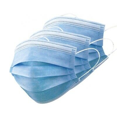 £2.99 • Buy Face Masks Mask Disposable PPE Non Surgical Breathable 10/20/50 Covering