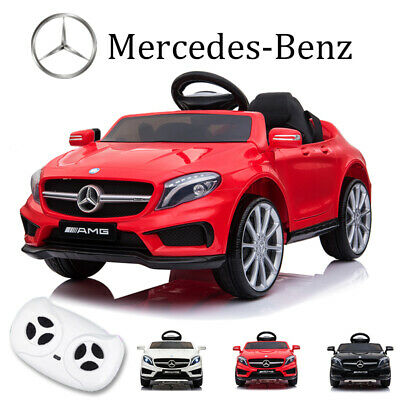 12V Kids Ride On Car Electric Licensed MERCEDES BENZ AMG GLA45 Twin Motor Remote • 99.99£