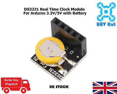 DS3231 Real Time Clock Module For Arduino 3.3V/5V With Battery For Raspberry Pi • 3.89£