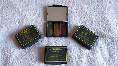 British Army Bcb Face Paint Camouflage, Multi Terrain, Green,sand And Brown. New • 4£