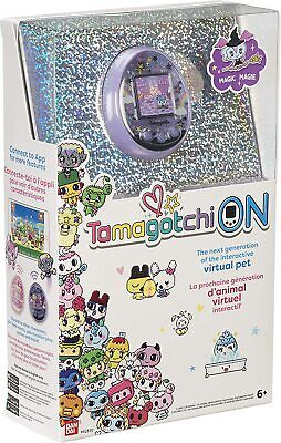 AU119 • Buy Tamagotchi Tama On Magic Purple Interactive Virtual Pet Exclusive Characters New