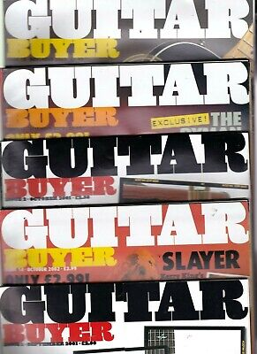Various Issues Of GUITAR BUYER Magazine From September 2001 To December 2006 • 4.25£