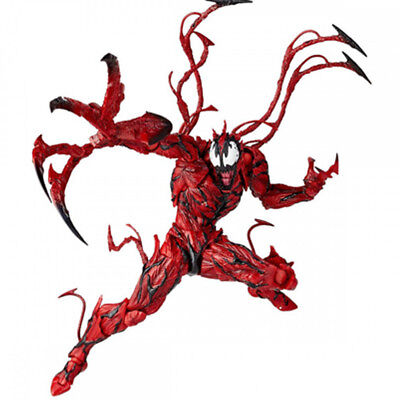 6  Yamaguchi Marvel Carnage Red Venom Spider-Man Action Figure Model Play Toys • 17.66£