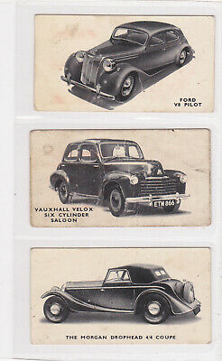 Kellogg's 1949 Motor Cars (black & White) 3 Cards - Lot 3 • 0.99£