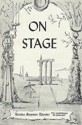 $ CDN80.16 • Buy Estelle Winwood (Signed)  MADWOMAN OF CHAILLOT  Florence Reed 1957 Playbill