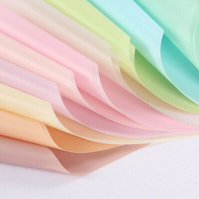 Waterproof Translucent Paper DIY Flower Bouquet Wrapping Paper Gift Packing UK~ • 6.48£