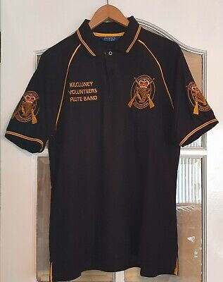 Polo Shirt Kilcluney Volunteers Flute Band Ulster Loyalist Rangers FC 12th July • 30£