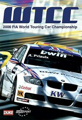 FIA WTCC World Touring Car Championship - Official Review 2006 (New DVD) • 11.99£
