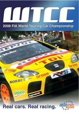FIA WTCC World Touring Car Championship - Official Review 2008 (New DVD) • 11.99£