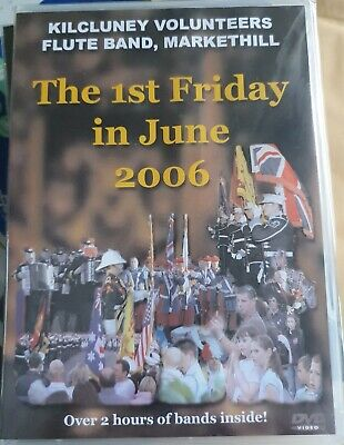 Kilcluney Volunteers Flute Band Rangers FC Ulster Loyalist Parade DVD 2006 • 6£