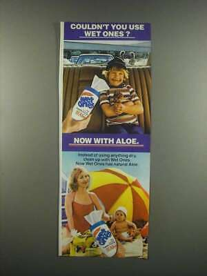 $ CDN21.23 • Buy 1984 Wet Ones Wipes Ad - Couldn't You Use?