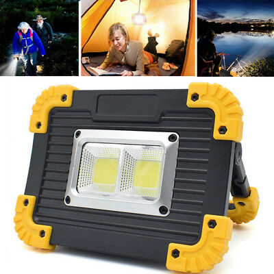 20W USB Rechargeable LED Camping Lantern Outdoor Tent Light Portable Work Lights • 8.15£