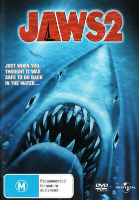 Jaws 2 - New Dvd • 5.95£
