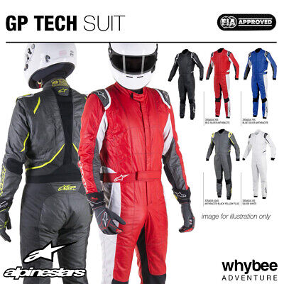 3354016 Alpinestars GP TECH SUIT 3-Layer Nomex Fireproof Race Rally FIA Approved • 349.99£