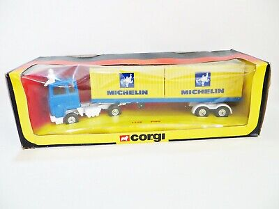 Corgi Major 1108 'ford Tilt Cab Michelin Container Lorry/truck'. Mib/boxed • 39.99£