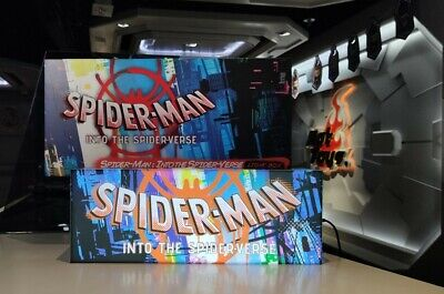 $ CDN202.58 • Buy Hot Toys Marvel Spider-Man Into The Spider Vease USB Light Box