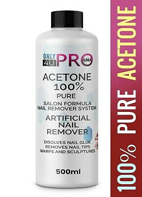 £8.99 • Buy 100% Pure Acetone Superior Quality Nail Polish Remover 500ML UK Best Quality