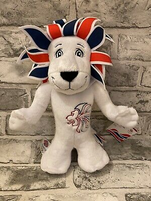 BNWT 2012 London Olympics Pride The Lion Mascot Plush Soft Toy • 5.99£