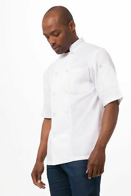 $20.99 • Buy Chef Works Mens Volnay Chef Coat (PCSS)