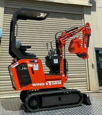 AU11990 • Buy Windstorm XN10 Mini Excavator 850kg Package