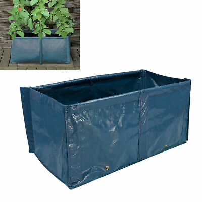 Pea Runner Bean Tomato Grow Bag Planter Outdoor Garden Plant Pot Support Frame • 8.58£