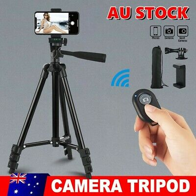 AU18.95 • Buy Professional Camera Tripod Stand Mount Holder For IPhone Samsung Canon Sony DSLR