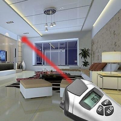 Electronic Tape Measure Laser Pointer Ultrasonic Distance Meter Measurement New • 10.66£