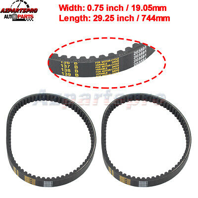 $ CDN21.23 • Buy 2pcs Go Kart Belt 30 Series For Comet 203591 Manco Yerf Dog Q43203W Rotary 10052