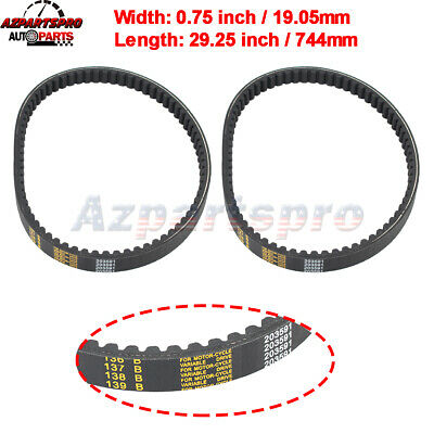 $ CDN21.22 • Buy DRIVE BELT For YERF DOG MANCO CARTER 203591 Q43203W 5.5HP 6.5HP GO KART BT-2 E2