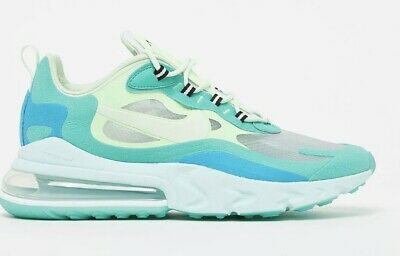 $46.75 • Buy Mens Nike Air Max 270 React AO4971-301 Hyper Jade/Frosted Spruce Size 10