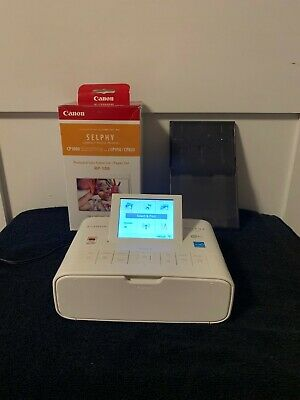 View Details Canon Selphy CP1300 Compact Digital Photo Printer With Ink And Paper - White • 42.00$