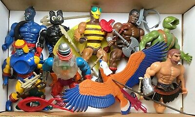$150 • Buy Vintage He-Man Masters Of The Universe Action Figures, Lot Of 9 Characters + Acc