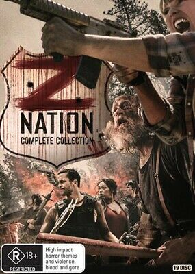 AU74.50 • Buy Z NATION Complete Series : Season 1 2 3 4 5 : NEW DVD