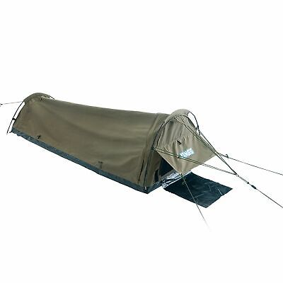 AU149 • Buy Adventure Kings Big Daddy Single Swag 750mm Kwiky Tent Dome 4WD Outdoor