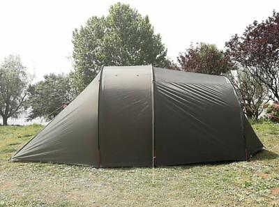AU249 • Buy AU Ship Waterproof Double Layers Biker Camping Tent With Motorcycle Storage Room