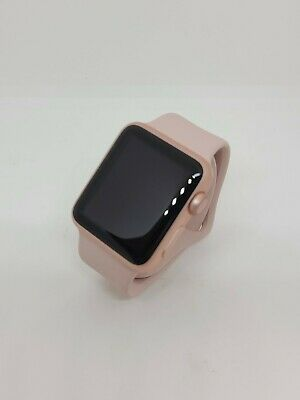 $ CDN227.48 • Buy Apple Watch Series 1 - 38mm Rose Gold Aluminum With Pink Sand Sport Band
