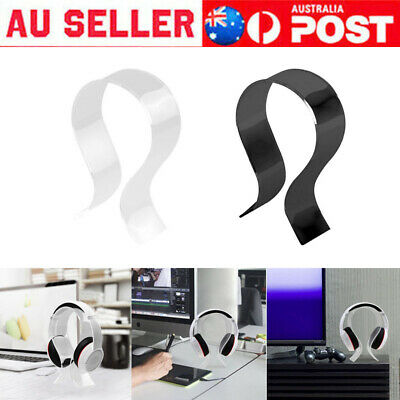 AU12.99 • Buy 1PC Acrylic Headphone Stand Headset Holder Desk Display Hanger Rack Top
