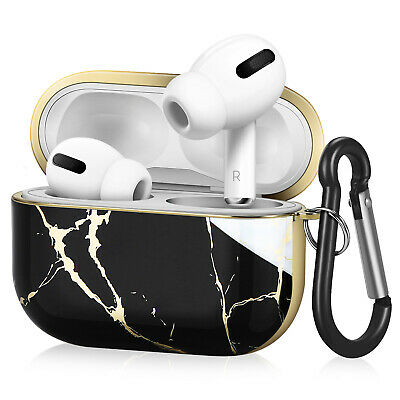 $ CDN18.99 • Buy Protective Case Cover For Apple AirPods Pro 3rd Gen With Carabiner Black White
