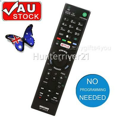 AU20.95 • Buy Remote Control RMT-TX200E Replace SONY 4K TV RMF-TX200A RMF-TX300U Replacement
